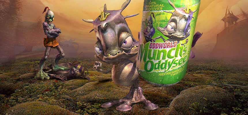 Oddworld: Munch's Oddysee bugün PS Vita için çıkıyor
