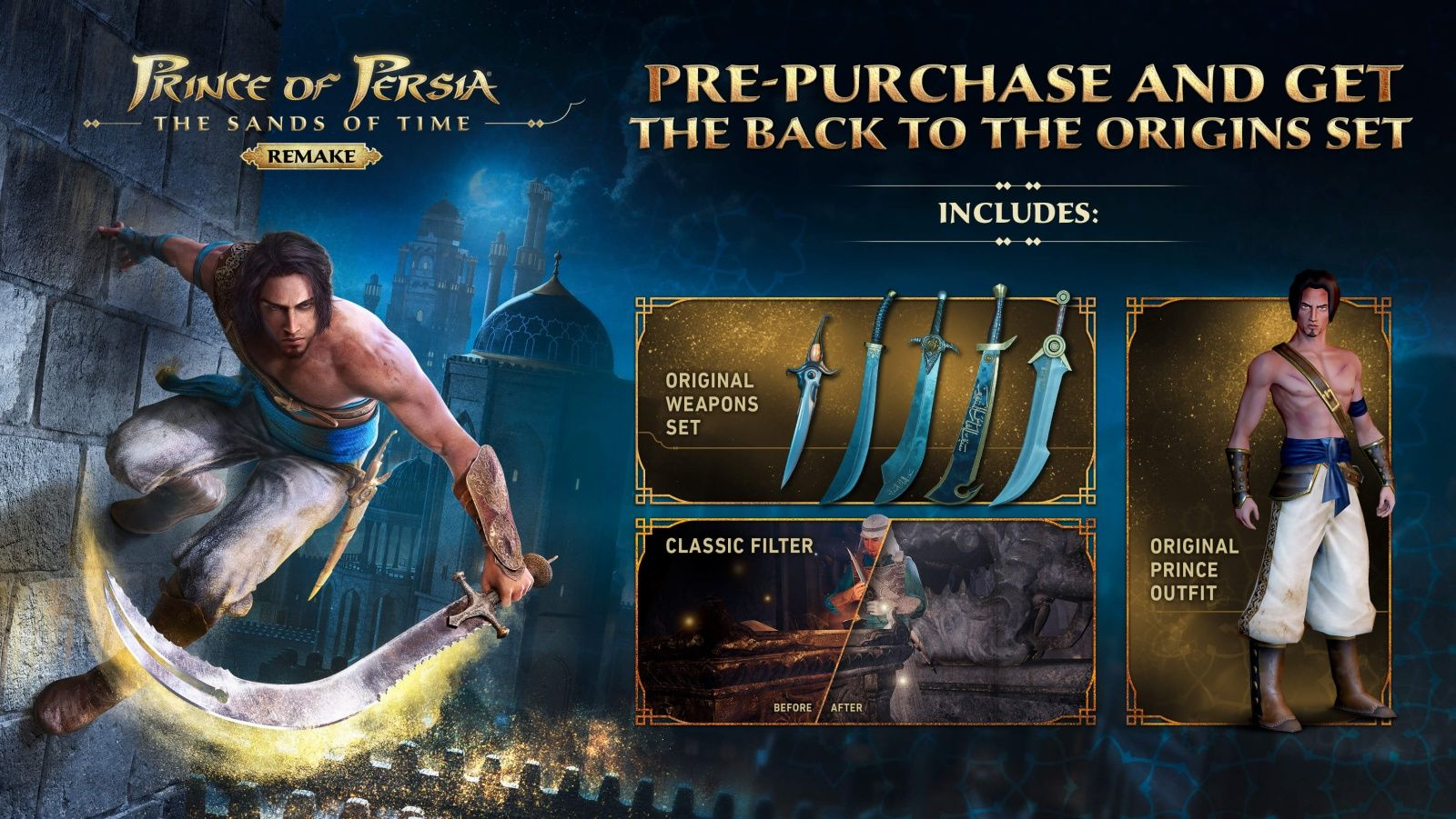 Prince of Persia: The Sands of Time Remake ertelendi