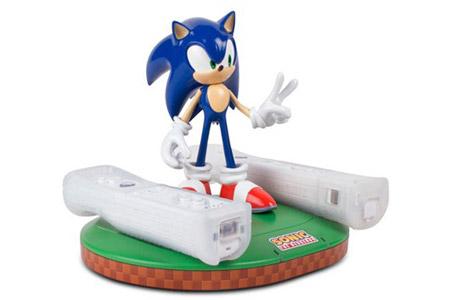 Wii kumandasına Sonic desteği