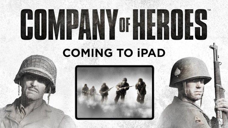 En iyi RTS oyunlarından Company of Heroes, iPad'e geldi!