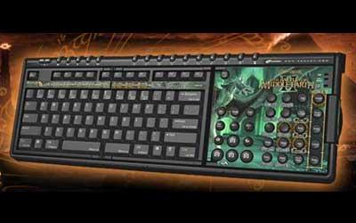Battle for Middle Earth için özel klavye
