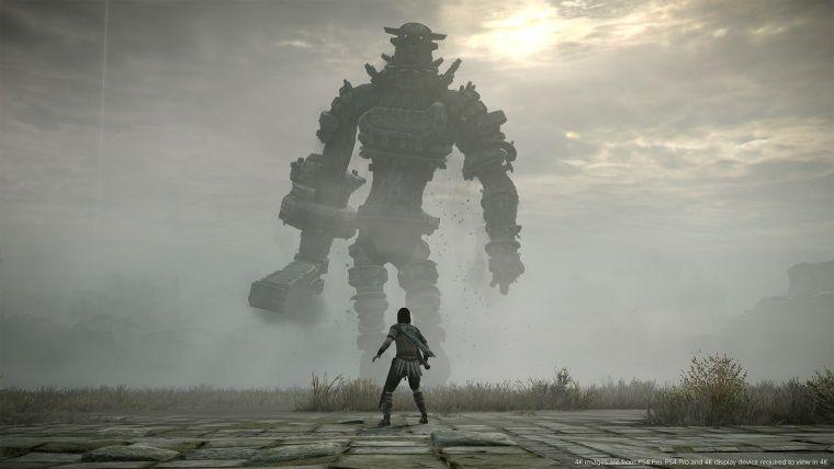 Shadow of The Colossus'un PS4 puanları PS2 puanlarından daha iyi