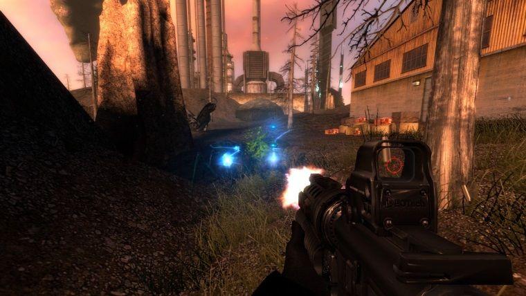 Resmi olmayan Half Life: Opposing Force oyunu yapım aşamasında