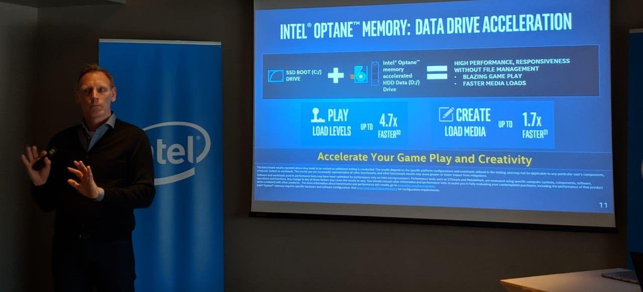 Bilgisayarınızı hızlandıran Intel Optane teknolojisi tanıtıldı