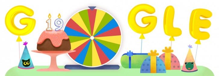 Google 19 yaşında!