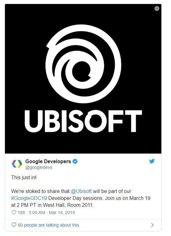 GDC 2019'a Ubisoft, ID Software ve Crystal Dynamics de katılıyor