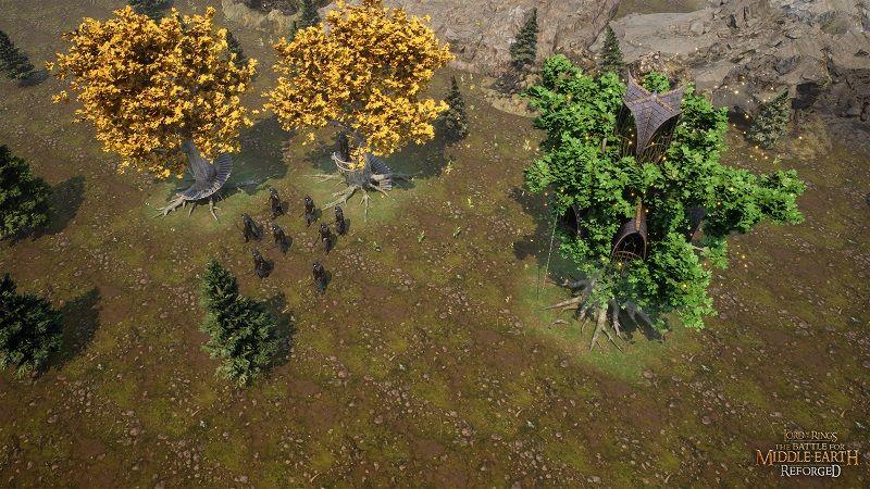 The Battle for Middle Earth Reforged projesinden yeni görseller