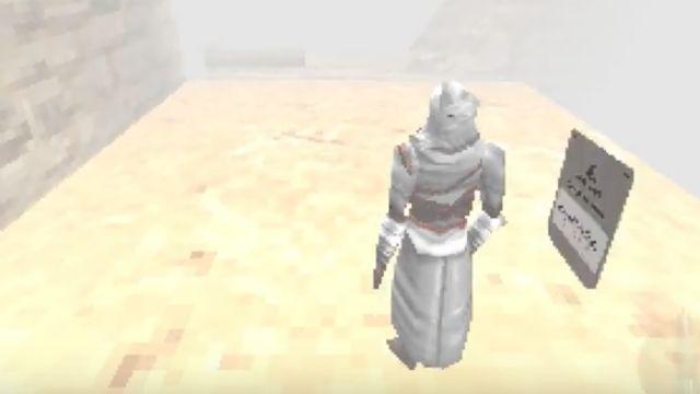 Assassin's Creed, Playstation 1'e çıksa nasıl gözükürdü?
