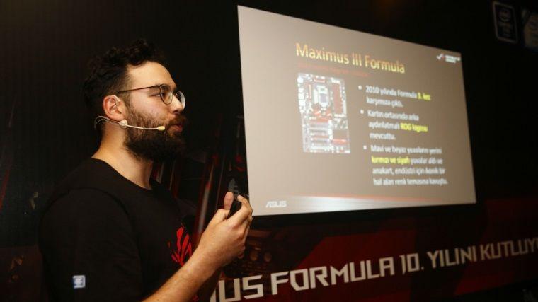 ASUS RoG, Maximus Formula Serisinin 10. Yılını Kutladı