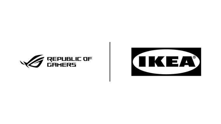 ASUS ROG ve IKEA, oyunculara yönelik aksesuarlar yapacak