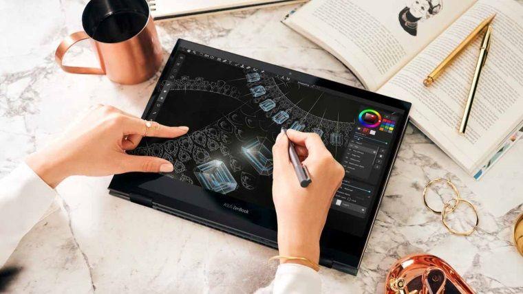 OLED 4K Ekrana Sahip Dizüstü Bilgisayar Modeli ASUS Zenbook Flip S 13 Tanıtıldı