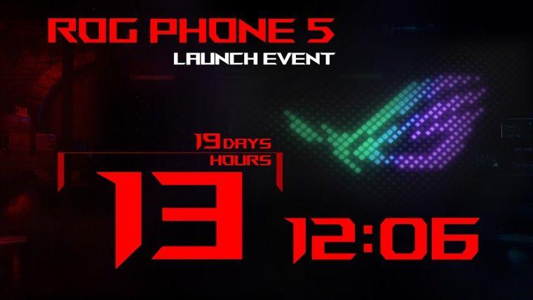 Asus ROG Phone 5 tanıtım tarihi açıklandı