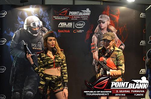 Türkiye'nin en iyileri ASUS ROG Point Blank 3. Ulusal Turnuvası Büyük Finali'nde kozlarını paylaştı