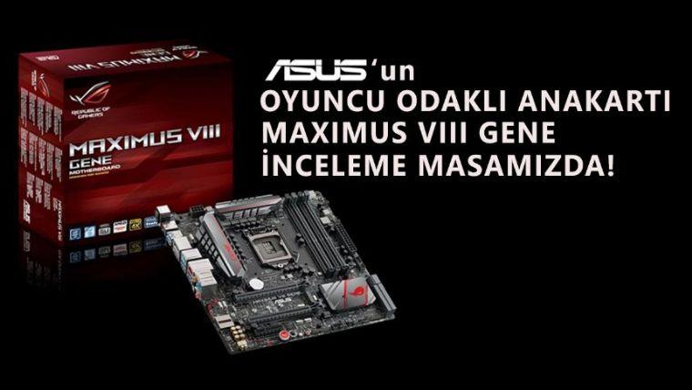 Asus Z170 Maximus VIII Gene