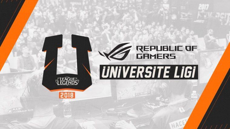 ASUS ROG, League Of Legends Üniversite Ligi'nin ana sponsoru oldu