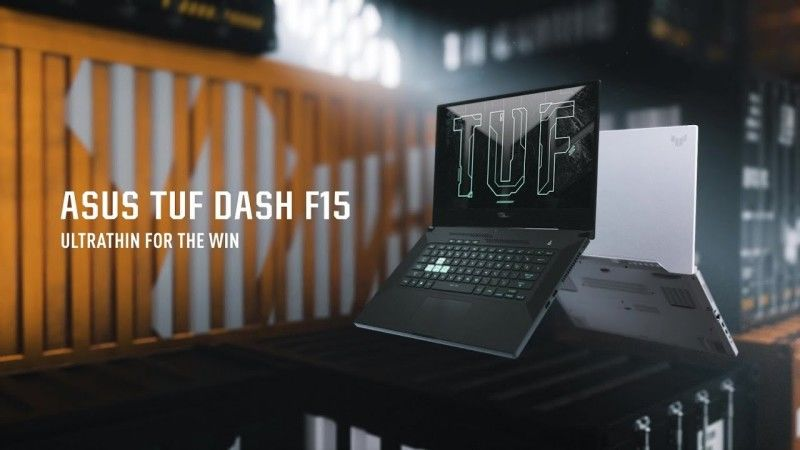 ASUS TUF Dash F15 gaming laptop announced
