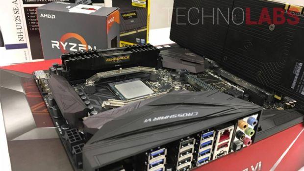 AMD Ryzen R7 1800X