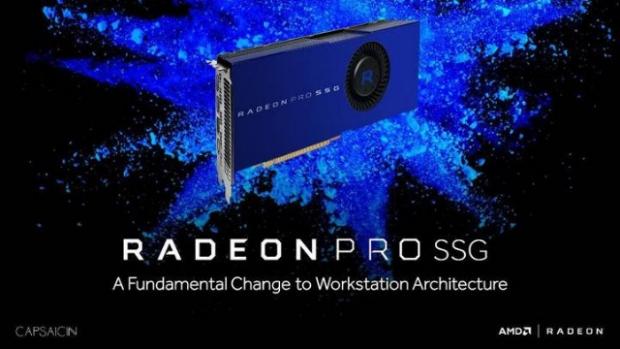 AMD'den 1 TB SSD'li ekran kartı!