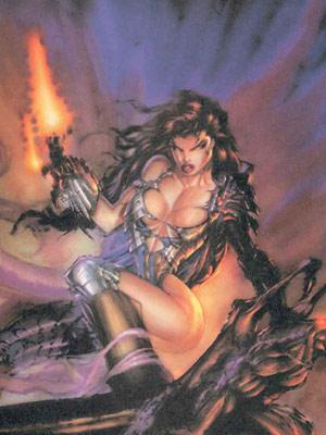 Witchblade oyun oluyor
