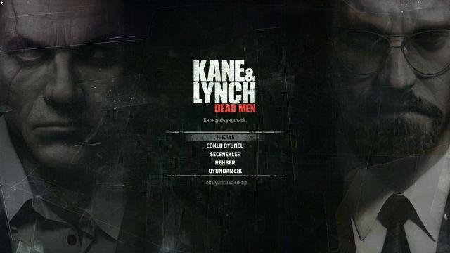 Kane & Lynch: Dead Man, Türkçe oluyor!