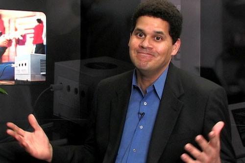 Nintendo'nun renkli patronu Reggie VGX sahnesinde