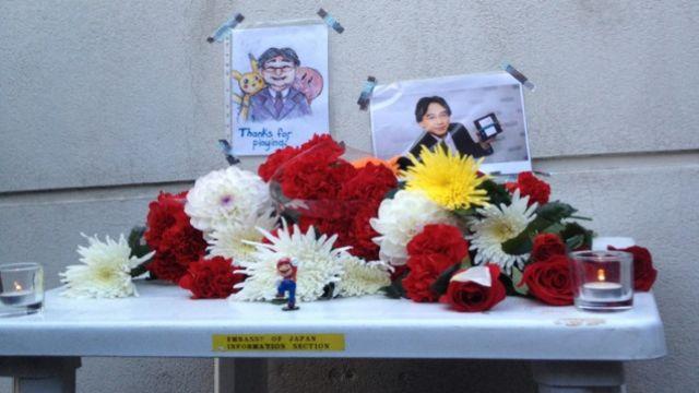 Satoru Iwata için bir tören de Rusya'dan