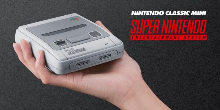 Nintendo SNES Classic Mini yakında Avrupa'da satışa sunulacak