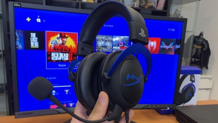 HyperX Cloud Blue PS4 Gaming Kulaklık inceleme
