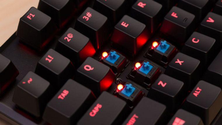 HyperX Alloy FPS Taşınabilir Mekanik Klavye