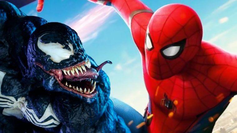 Tom Holland, Venom setinde görüldü!