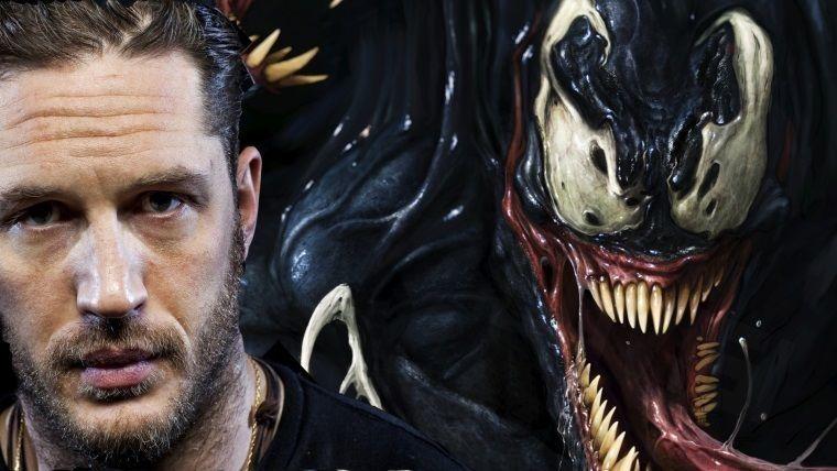 Tom Hardy, Venom'un çekimlerinin tamamlandığını duyurdu!
