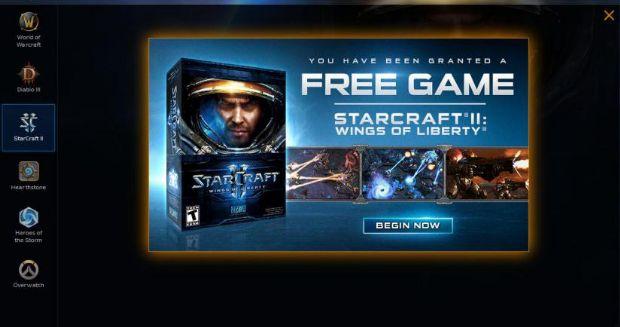 Blizzard, Starcraft 2'yi ücretsiz olarak dağıtmaya başladı