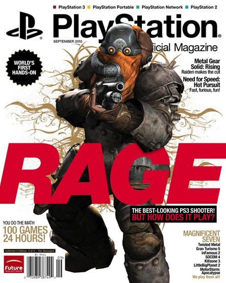 Rage'in kontrolleri Modern Warfare 2 gibi