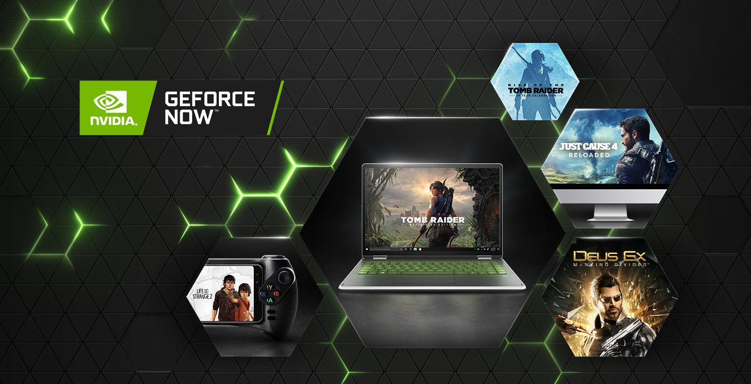 Square Enix oyunları, GeForce Now sistemine geri döndü