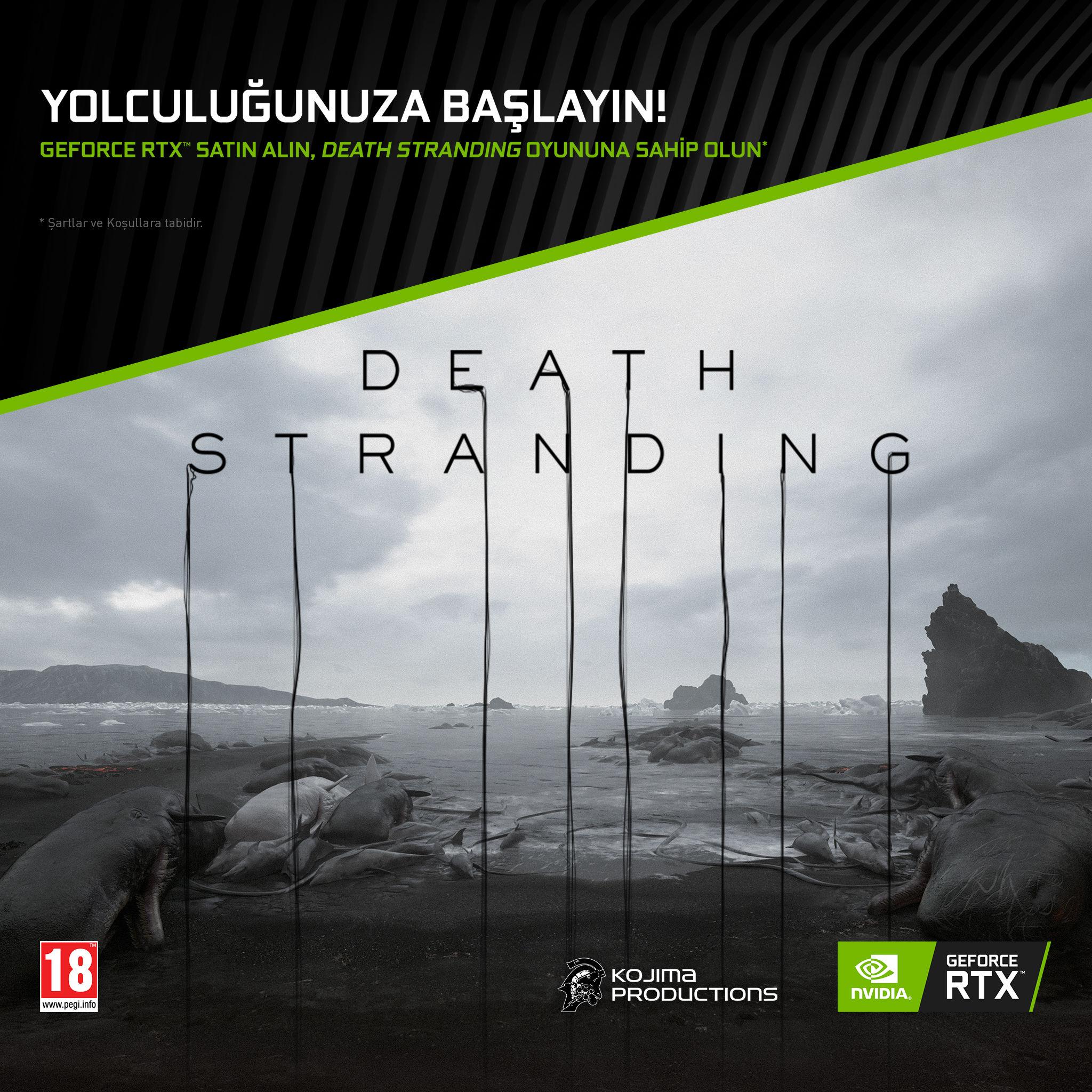 GeForce RTX kart alanlara Death Stranding bedava verilecek