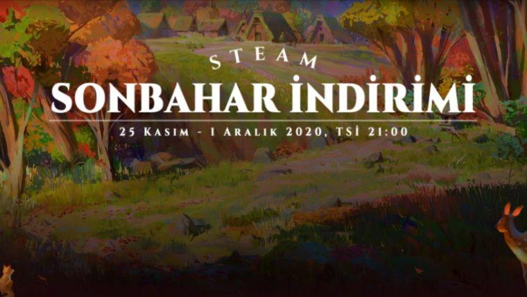 Steam sonbahar indirimleri başladı