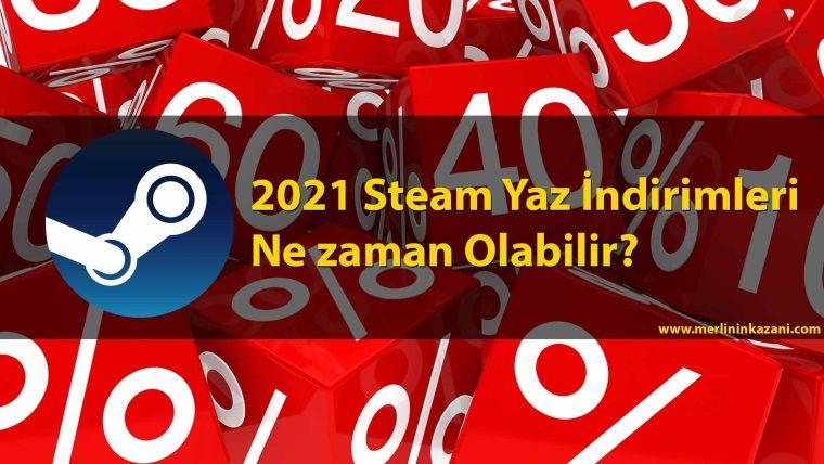Steam indirimleri 2021: Bir sonraki Steam satışı ne zaman?