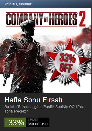 Company of Heroes 2 güzel bir indirime girdi!