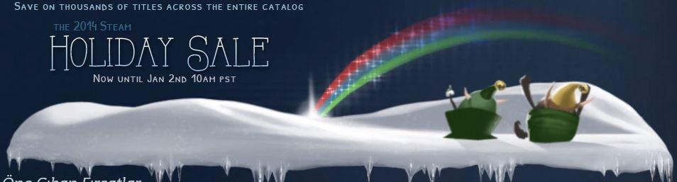 Steam'in ünlü kış indirimleri müthiş bir başlangıç yaptı!