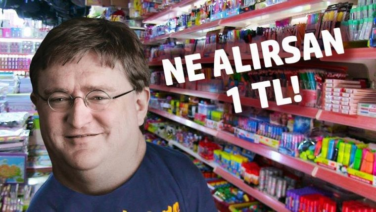 Steam'in oyun mağazası adeta ne alırsan 1 TL pazarına dönüştü