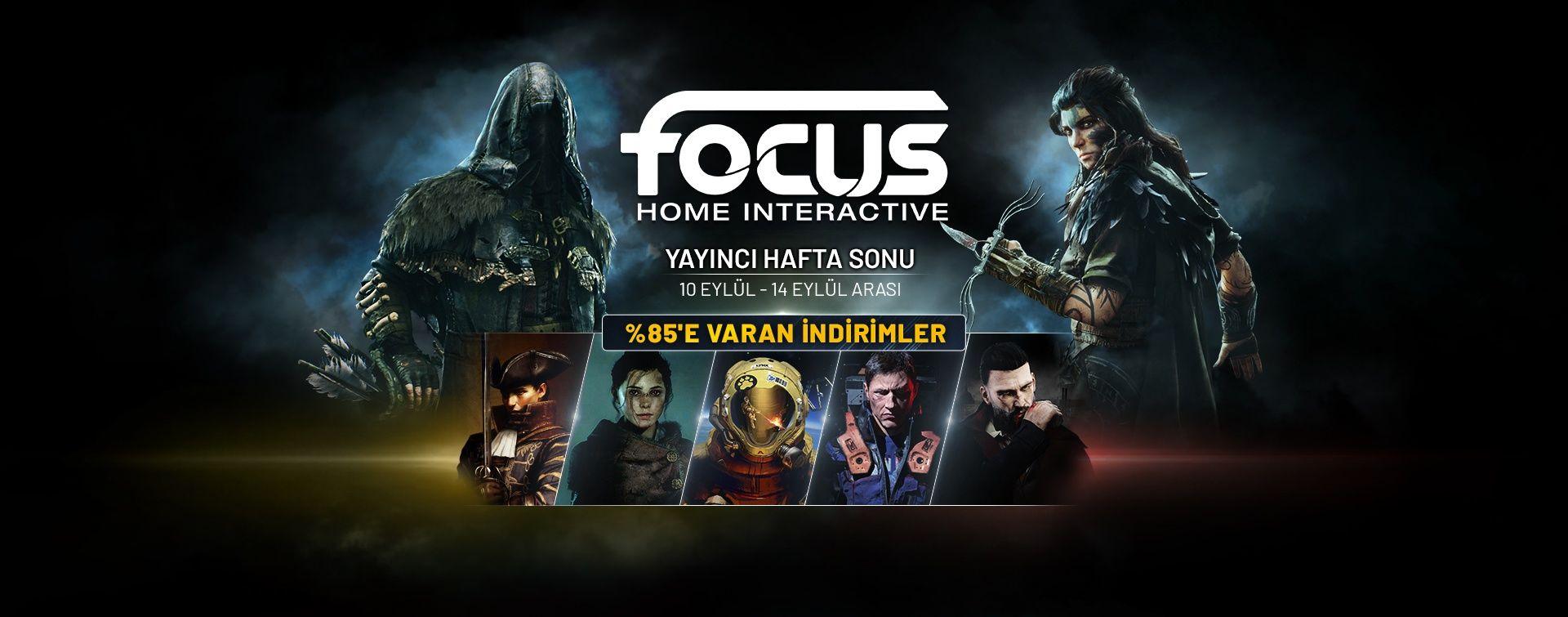 Focus Home Interactive oyunları Steam indirimlerinde