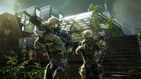 Crysis 2'nin multiplayer resimleri