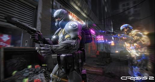 Crysis 2'den yeni mükemmel görseller