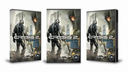 Crysis 2, Nano ve Limited Edition duyuruldu