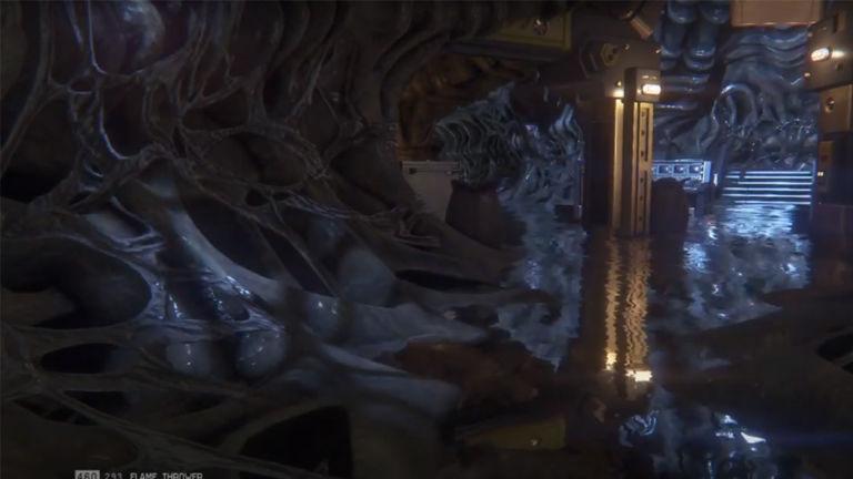 Alien Isolation Hive bölümü - Oyunlardaki en korkunç yerler