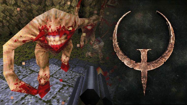 Quake yeniden yapımı duyurulduğu gibi çıktı