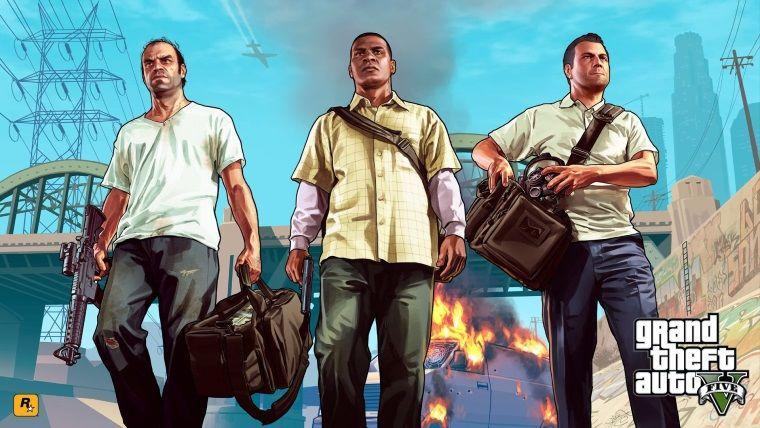 Geçtiğimiz hafta GTA V, Birleşik Krallık'ın en çok satan oyunu