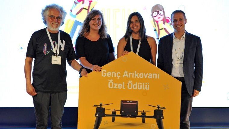 Turkcell'in Genç Arıkovanı projesinden liseli girişimcilere ödül
