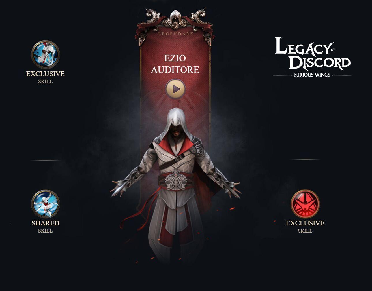 Assassin's Creed karakterleri mobil oyun Legacy of Discord'da