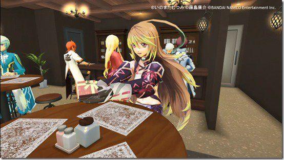 Oyun karakterleri ile kafede oturup çay içmek ister misiniz?
